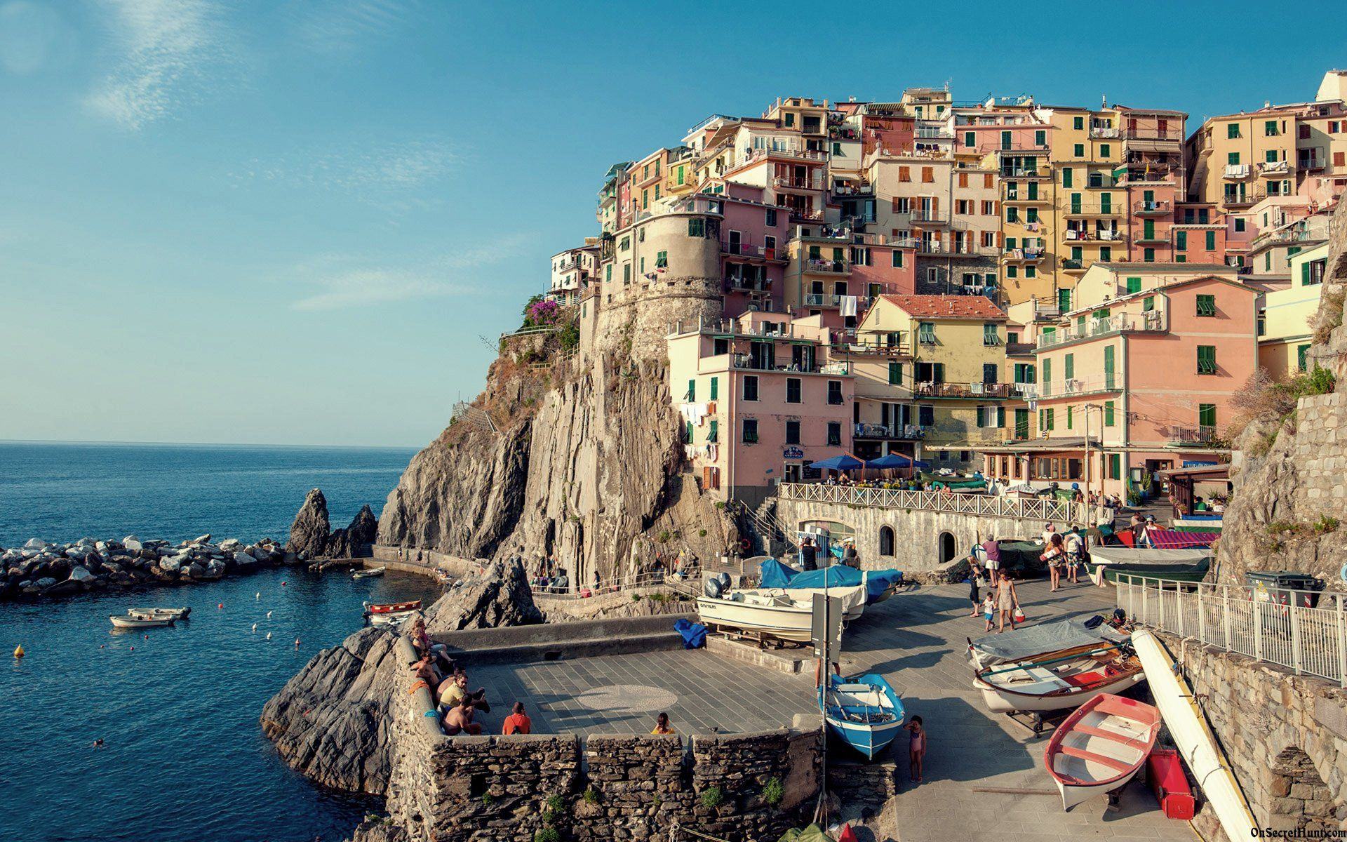 Unique Riomaggiore Wallpaper Widescreen Hd High Quality