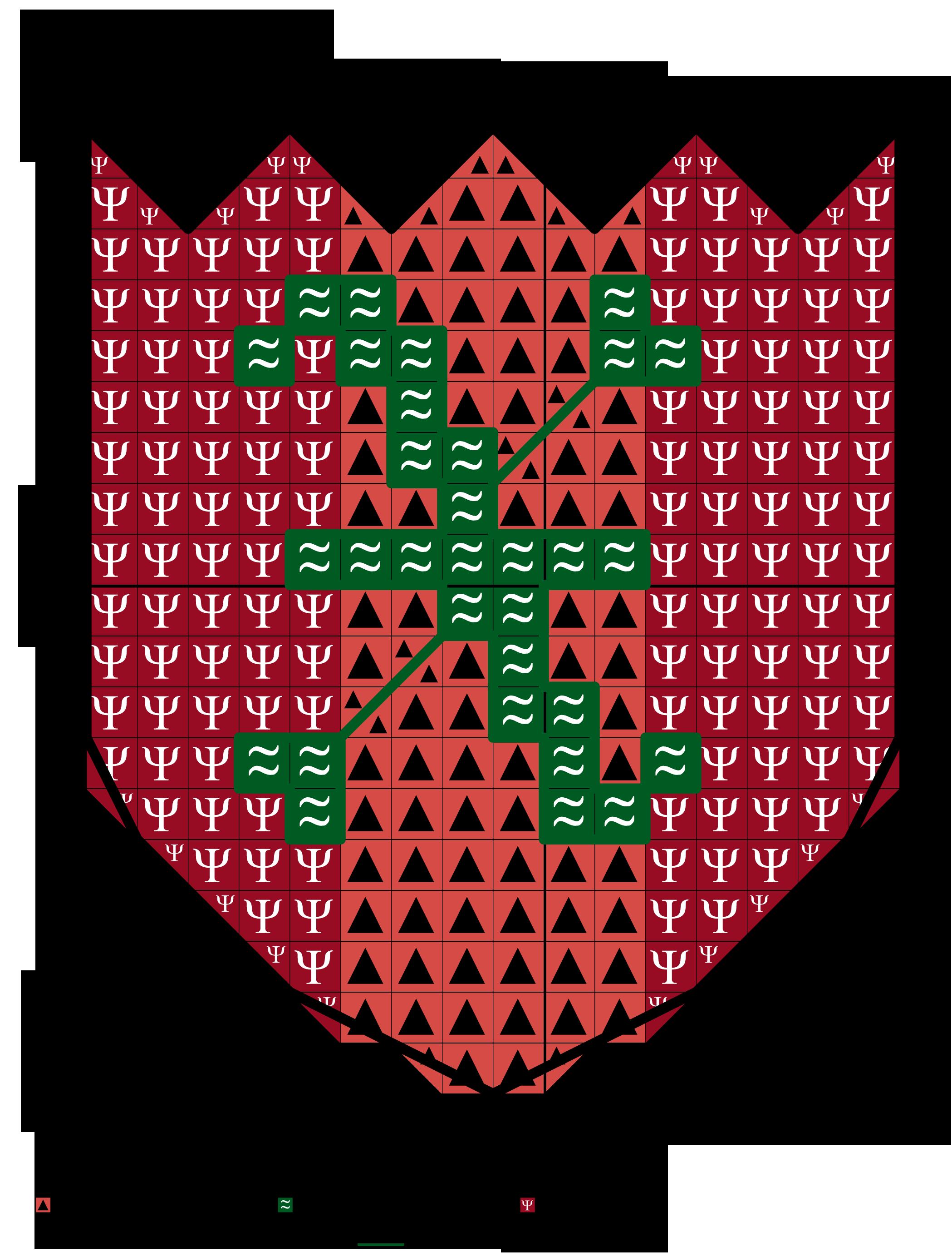 alfabeto araldico X