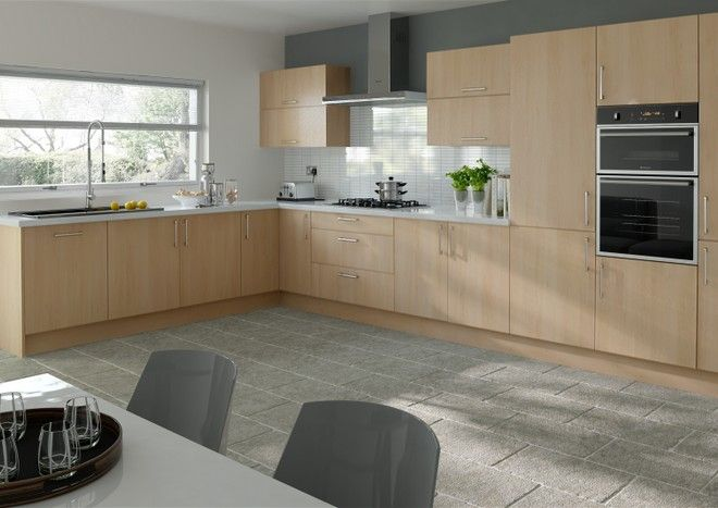 Best Lewes Beech Kitchen Doors Gloss Kitchen Cabinets High 400 x 300