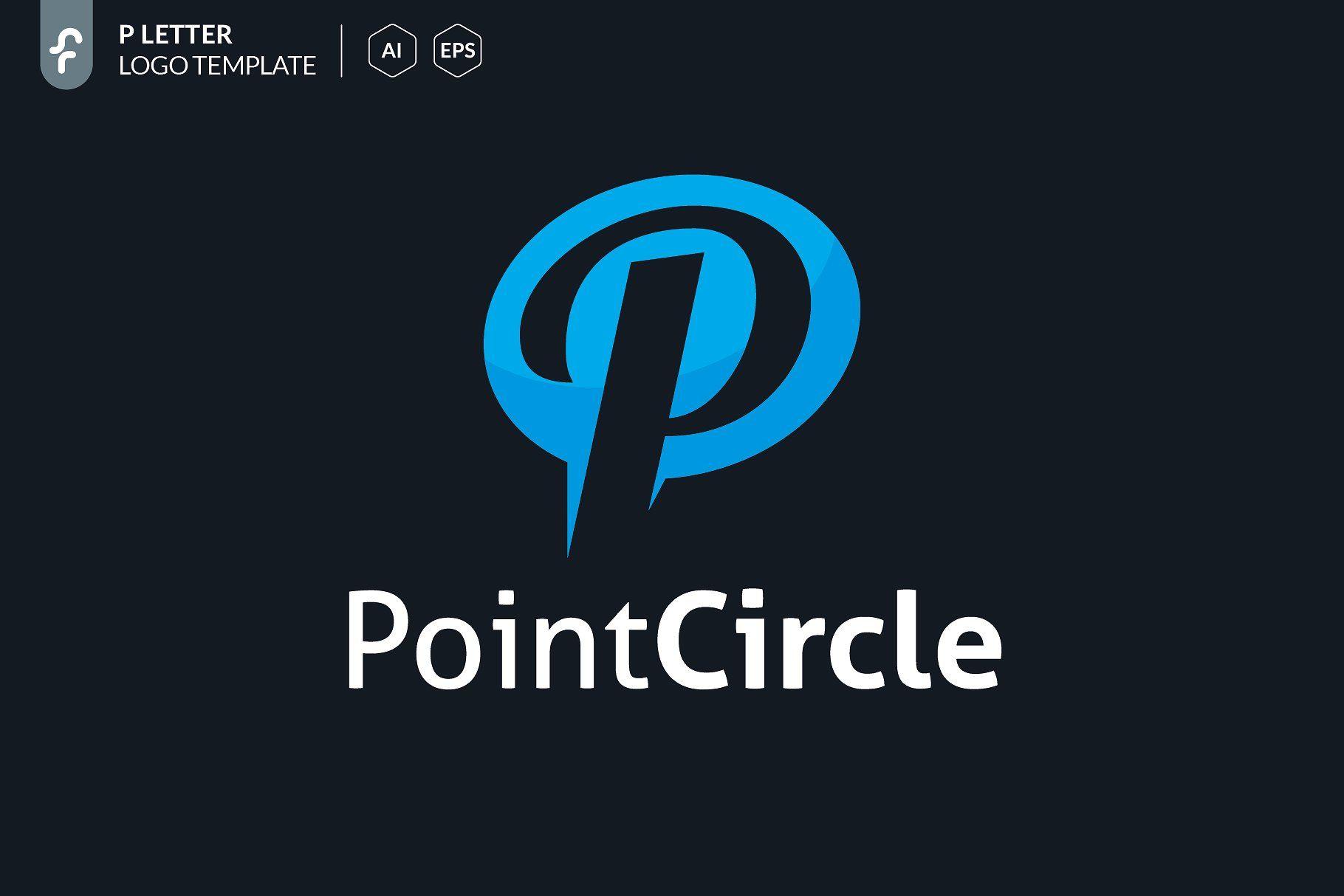 Point Circle Logo Templates Logos Modern