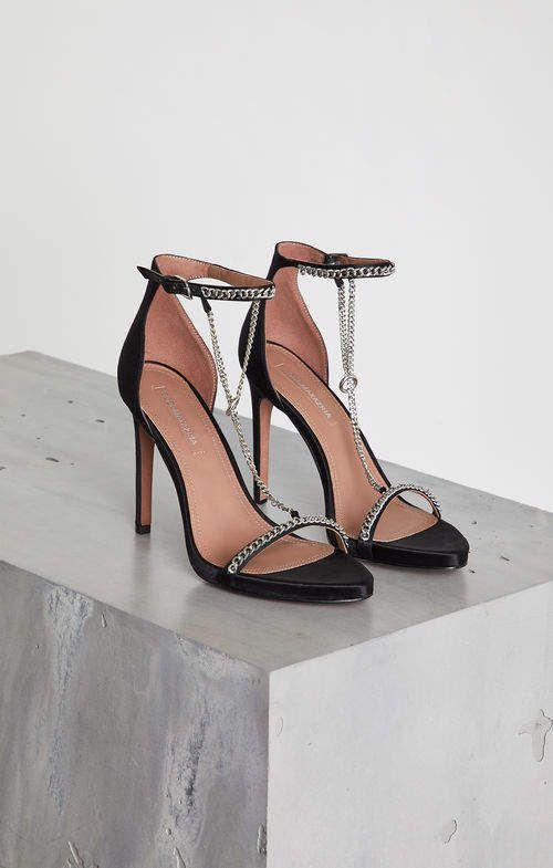 6acb6c41d5a0 Bcbg Ella Satin Stiletto Sandal -This sleek