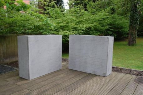 2er set pflanzk bel trennelemente beton elemento 88 cm garten pinterest. Black Bedroom Furniture Sets. Home Design Ideas