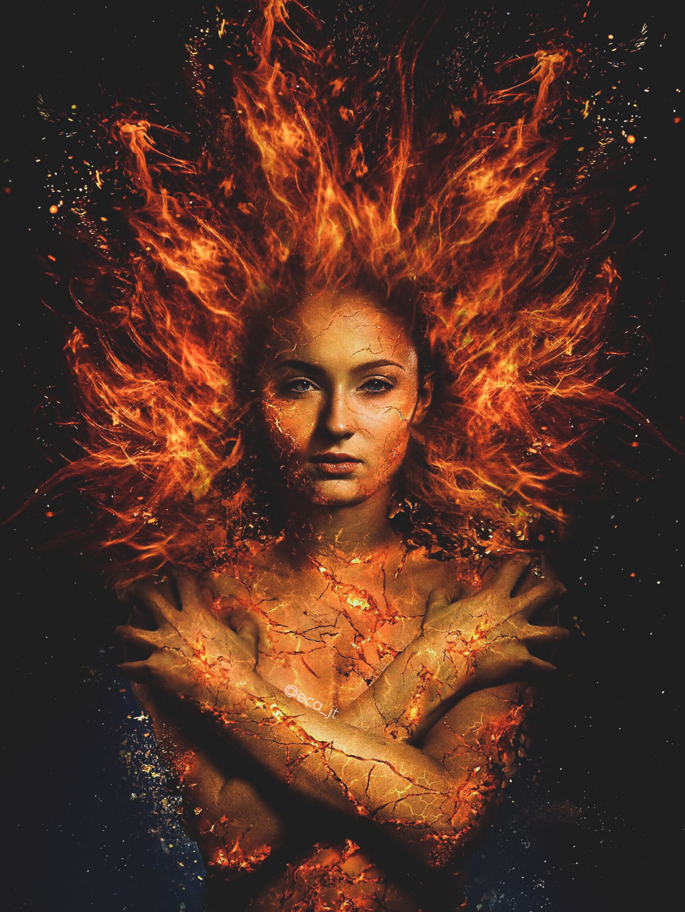 Sophie Turner Edit Tumblr Jean Grey Phoenix Dark Phoenix Marvel Jean Grey