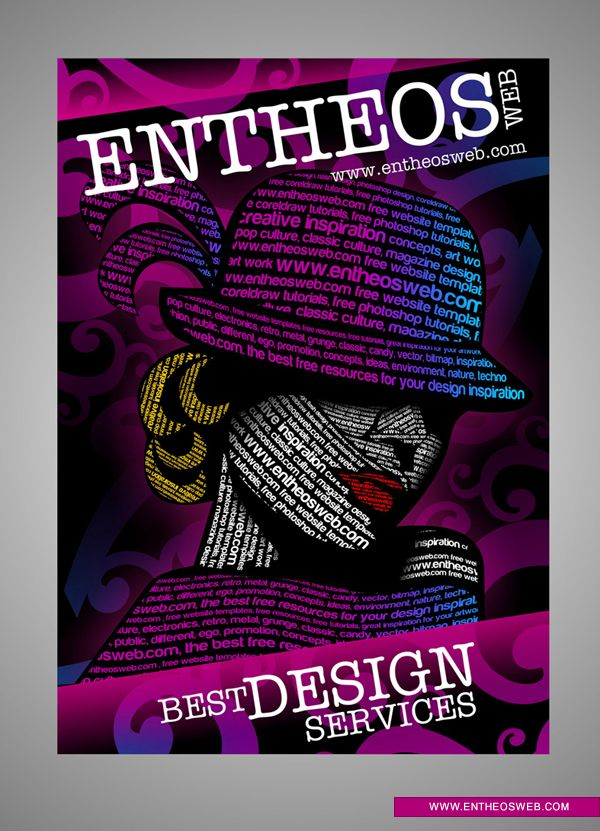 Awesome Typography Graphic Design in CorelDraw