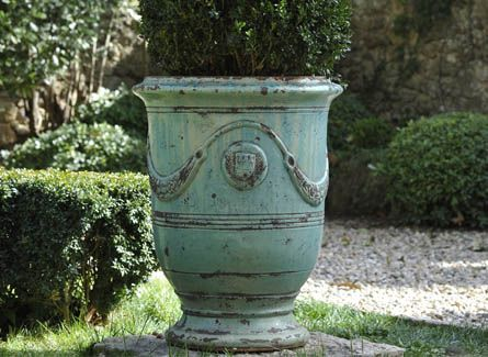 Source For French Anduze Urns   For Citrus In Pots On Patio Areas    Authentic Provence