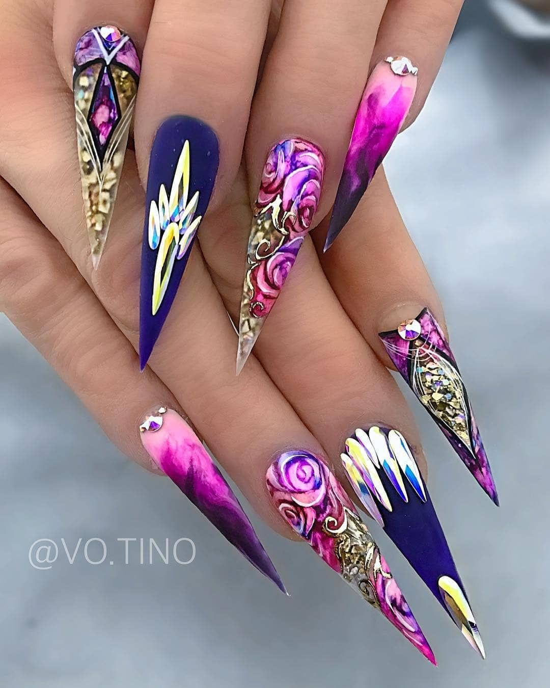 Nails Fascination On Instagram Nailsfascination Beautiful Art