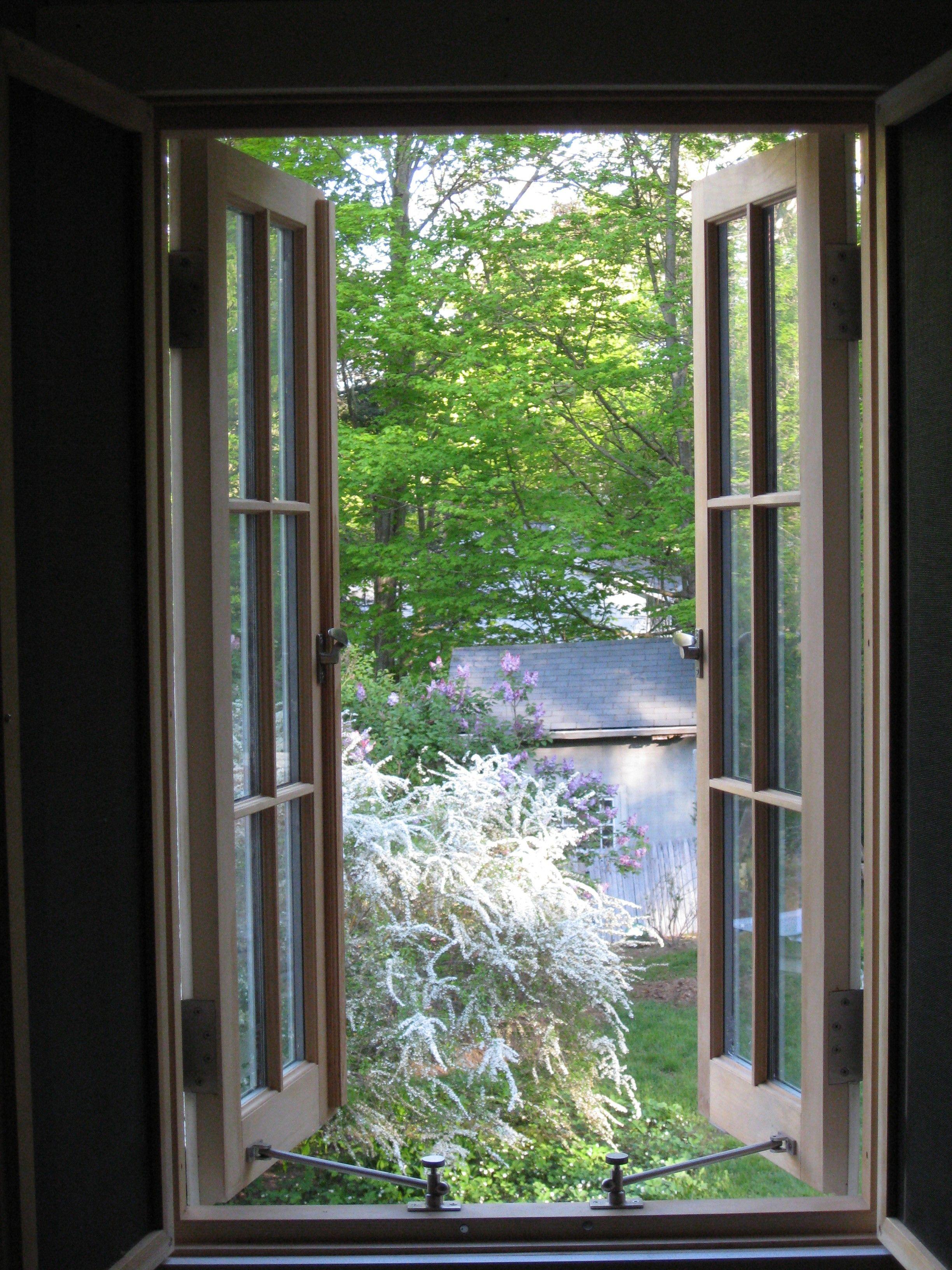 Green Mountain Window French Out Swing Casement 2w3h