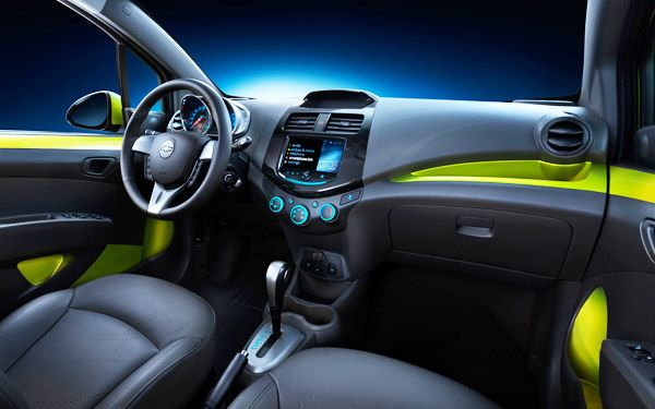 Chevrolet Spark Interior New 2013 Cars With Best Interior