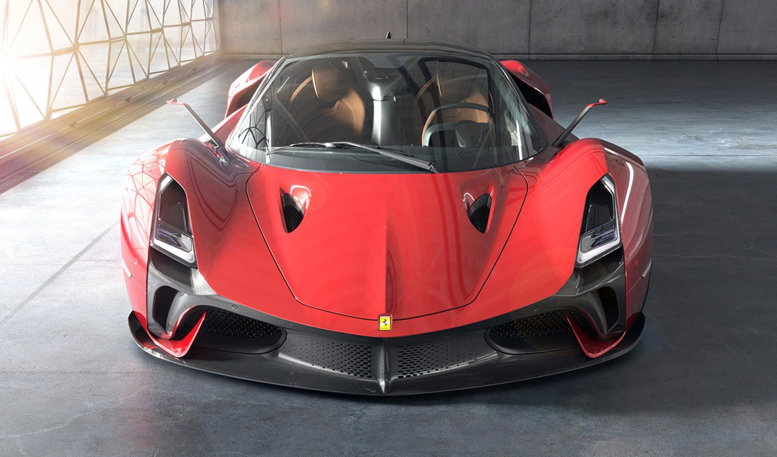 This Is What Ferrari S Next Flagship Hypercar Should Look Like Enzo Ferrari Would Doubtless Approve Of The Stallone In 2020 Concept Cars Ferrari Ferrari 612