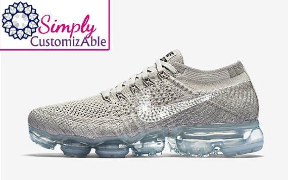 10b22a20d3ba New blinged nikes Nike Air VaporMax Flyknit blinged out with ...