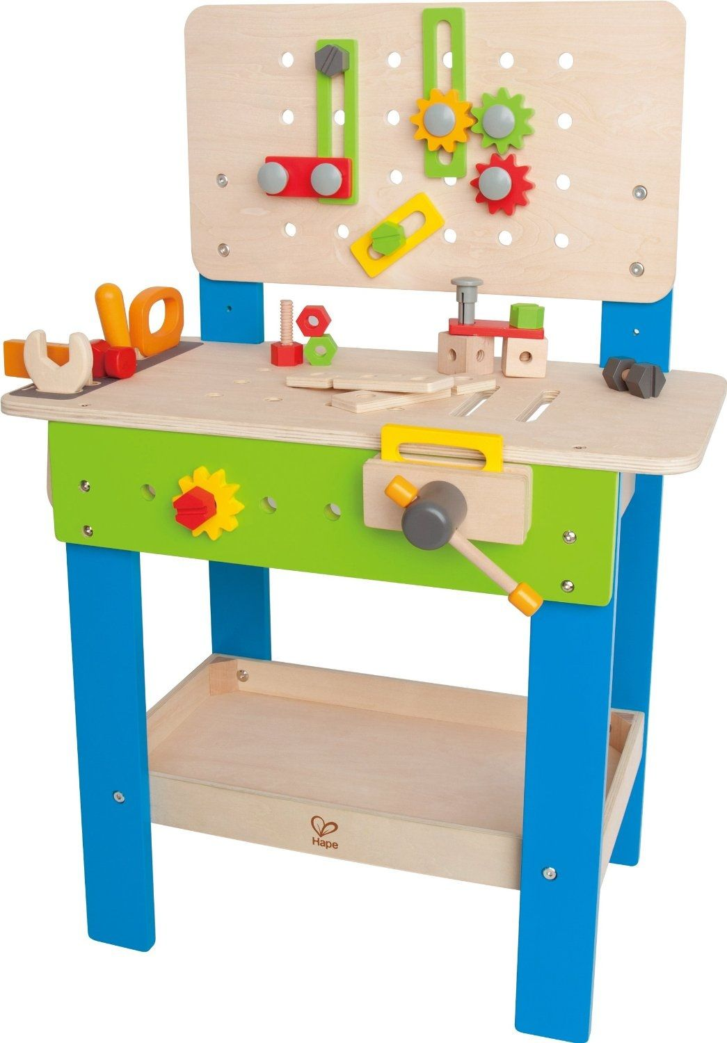 Werkbank Eichhorn Hape Toys Master Workbench With Tools Best Gift For 4 Year Old