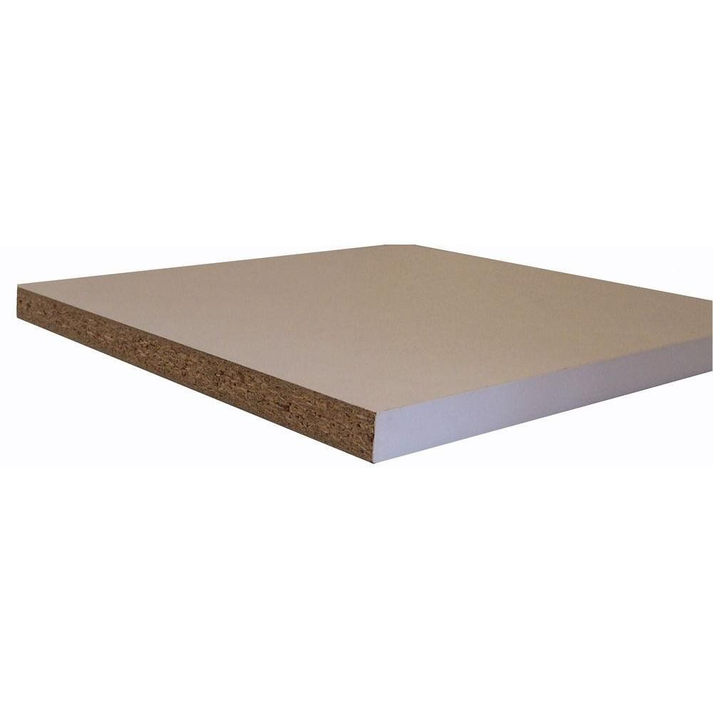 6 Inch Deep Bookcase Fresh Melamine White Shelf Board Mon 3 4 In X 11 3 4 In X 4 Ft Actual 0 75 In X 11 75 In X 48 I Melamine Shelving Wood Shelves Shelf Board