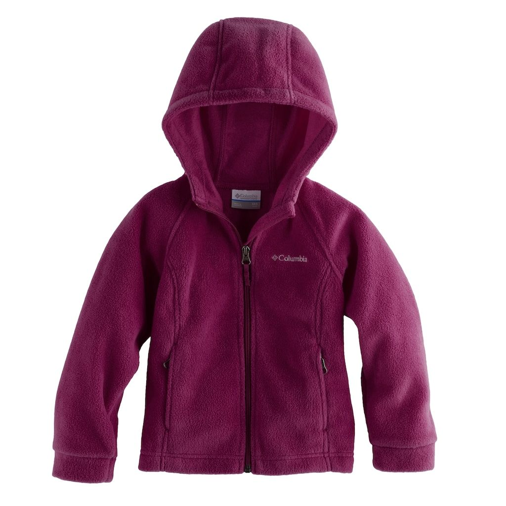 ddf31a571335 Columbia Baby Girl Three Lakes Fleece Hoodie Jacket