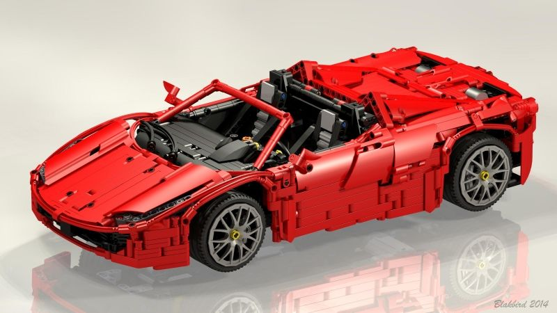 Lego Ferrari 458 Italia Spyder By Brunojj Blakbird Hobby Lego