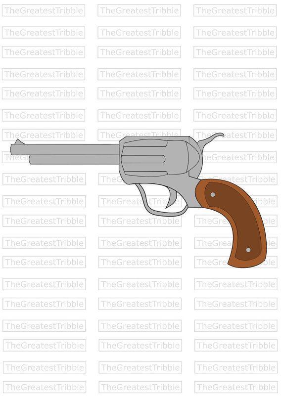 Handgun Pistol Svg Png Jpg Vector Graphic Clip Art Color Etsy Clip Art Wallpaper Website Svg