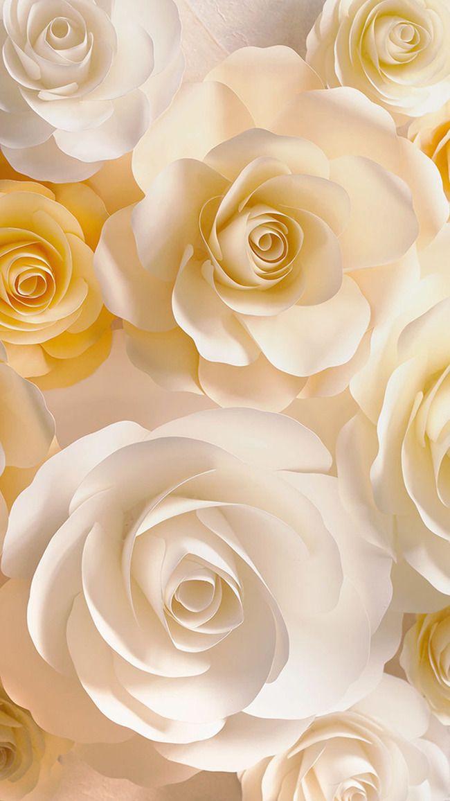 White Rose Flower Bouquet Background V 2020 G Zolotoj Uzor