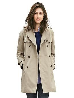 2d95ede07cc Imported. overview   The season s must have  a beltless trench in a sleek  double-breasted silhouette. Removable quilted lining lets you choose your  ...