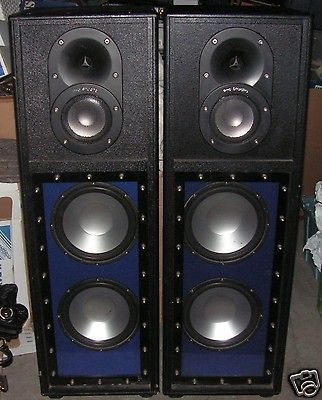 Pro Studio Speakers Ps 413 Dual 12 Woofers Titanium Voice Coil Studio Speakers Speaker Studio