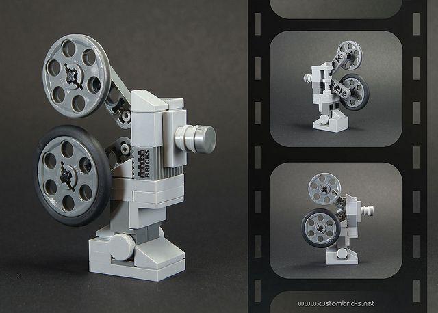 Lego Vintage Movie Projector