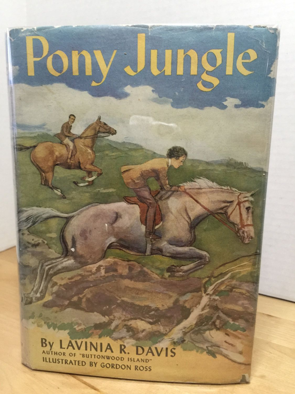 """Pony Jungle"", Lavinia R. Davis, Illustration Gordon Ross, 1945"
