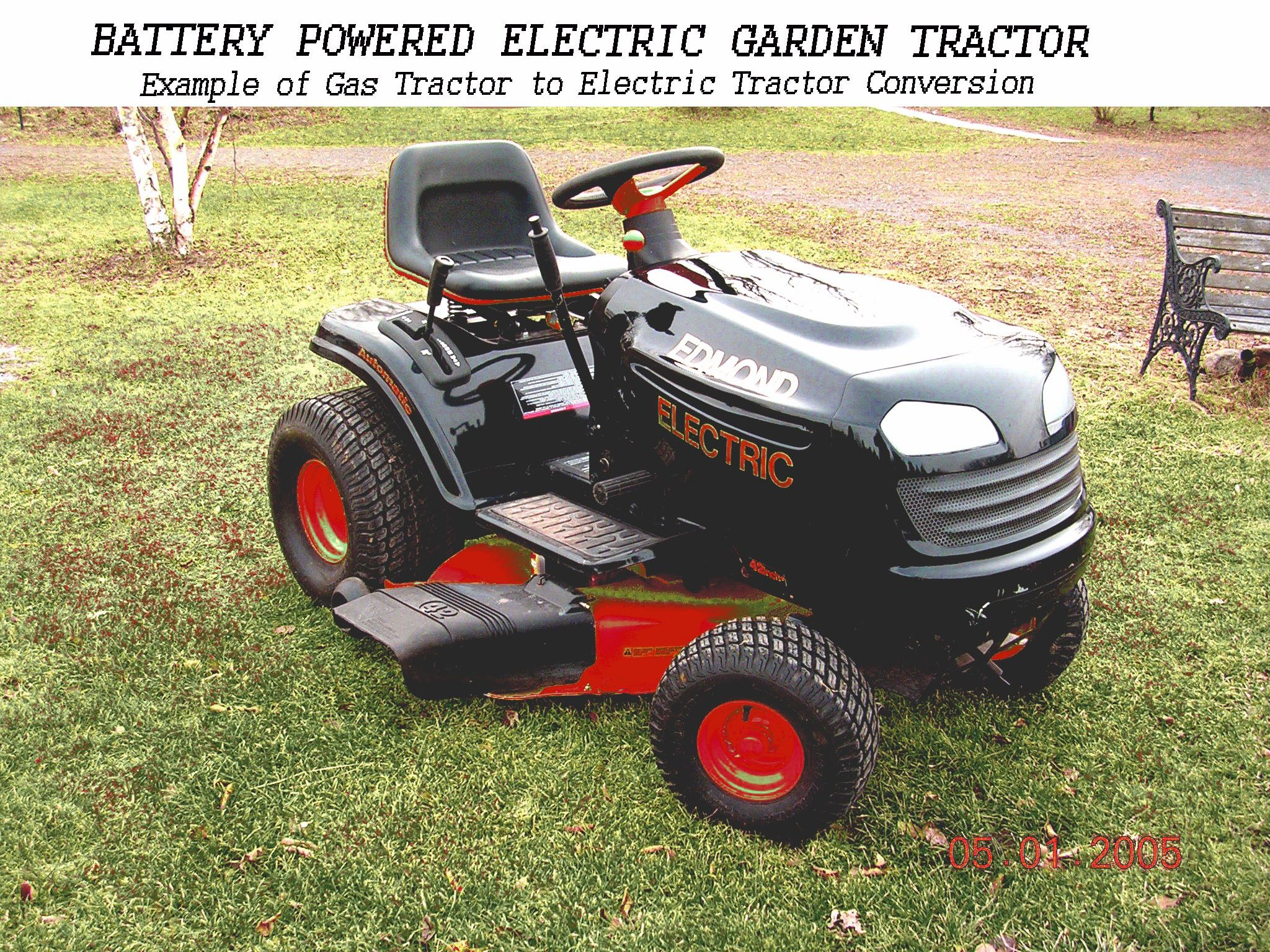 Diy Electric Riding Lawn Tractor Mower Plans And Kits