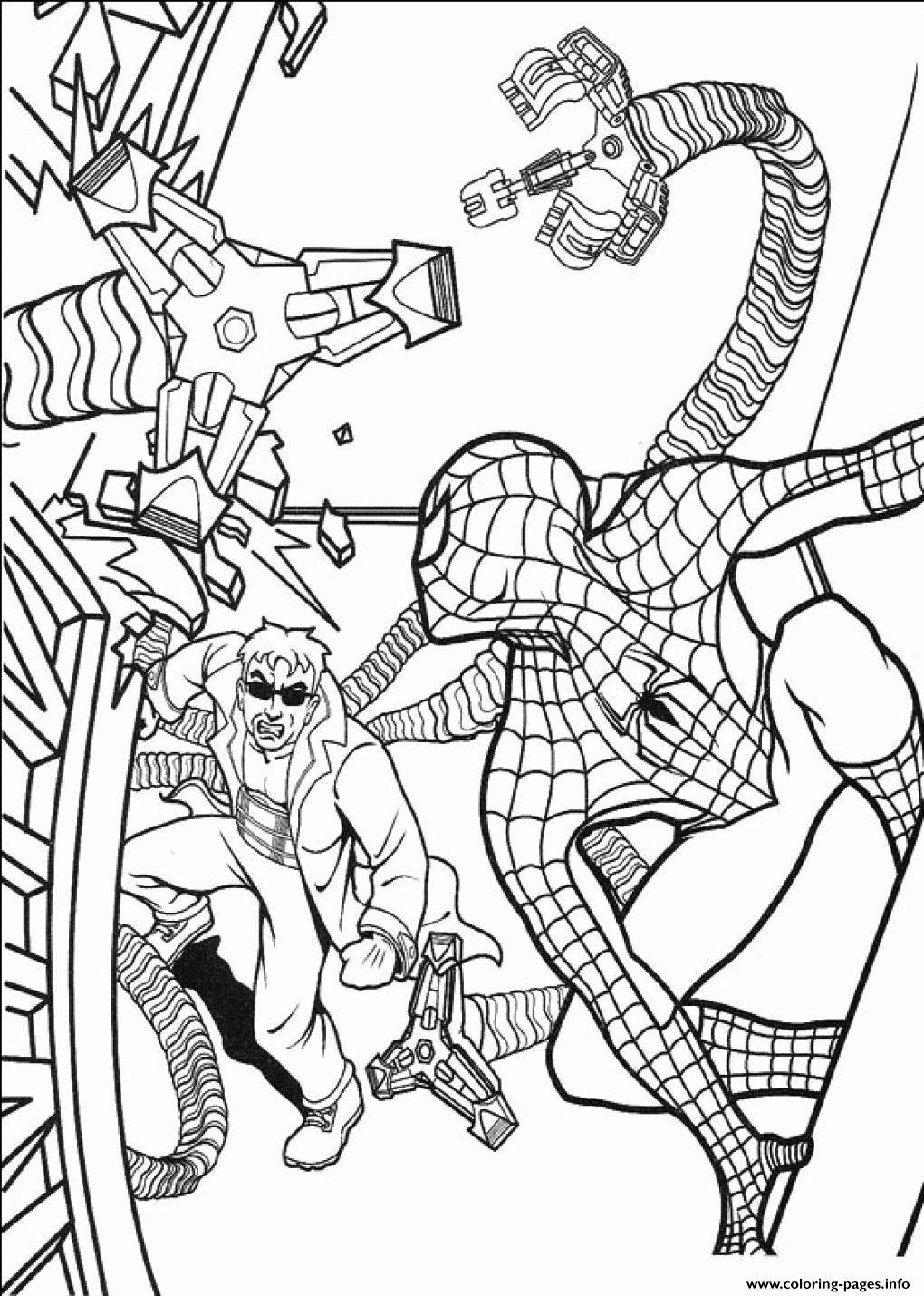 Cartoon Coloring Pages Pdf Elegant Spiderman Coloring Pages Printable Pdf Spiderman Coloring Cartoon Coloring Pages Coloring Pages