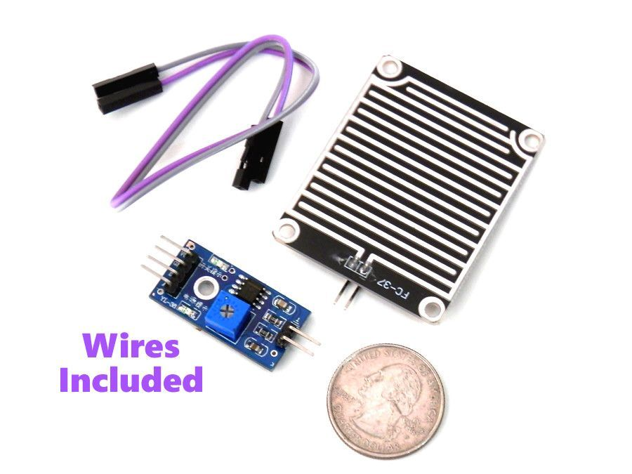 Raindrops Water Detection Sensor Module