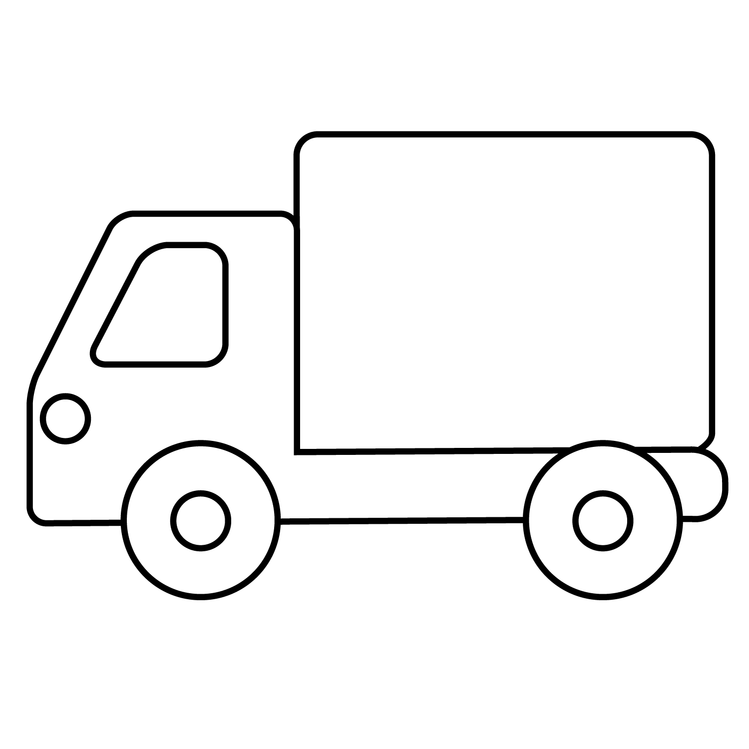 Meios de Transporte - delivery.png - Minus | coloring pages ...