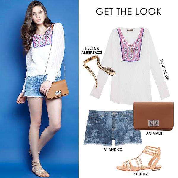 Compre moda com conteúdo, www.oqvestir.com.br #Fashion #Schutz #ViandCo #HectorAlbertazzi #Animale #Missinclof #Pretty #Summer #blue #Looks #Shop
