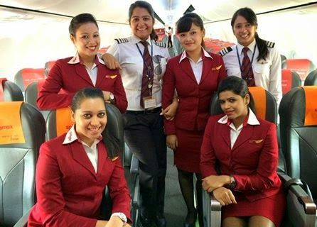 Indian Aviation NEWS: 10% of SpiceJet Pilots are women