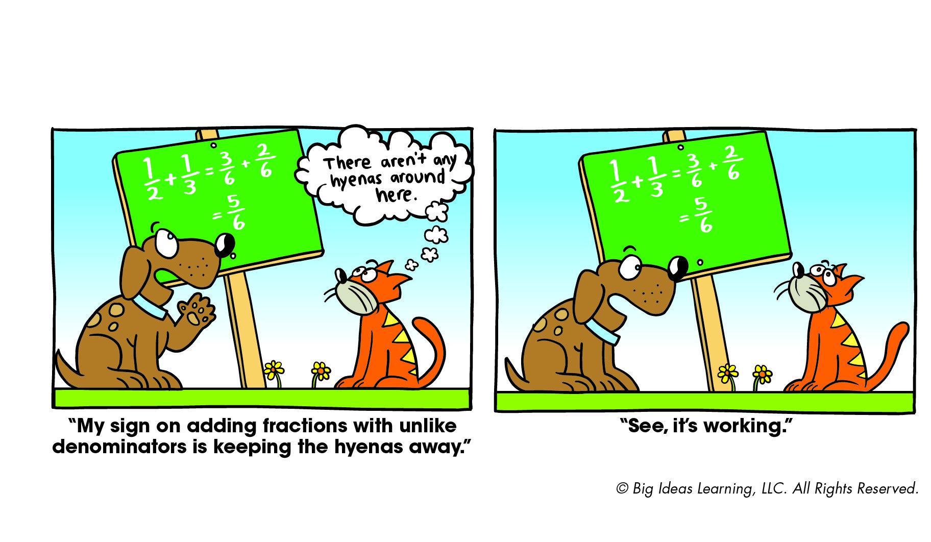 Adding Fractions With Unlike Denominators Big Ideas Math Adding Fractions Big Ideas Learning [ 1062 x 1824 Pixel ]