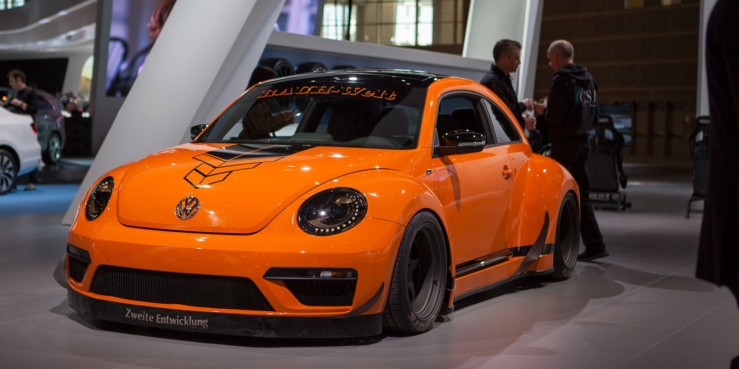 Volkswagen beetle r body kit by tanner foust and rauh welt begriff wide body kits beetles and volkswagen