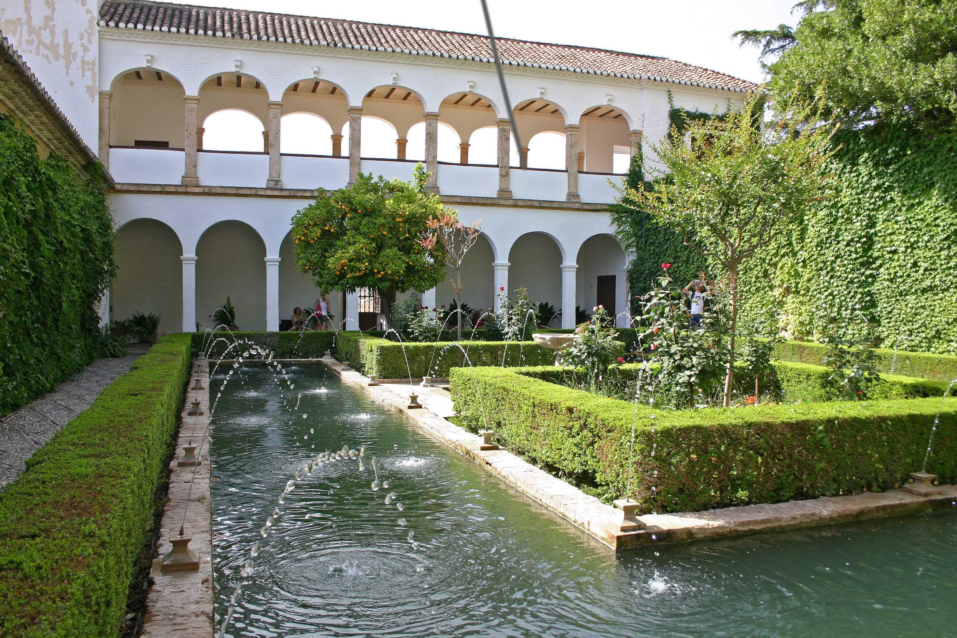 Patio de la sultana 1 alhambra de granada alhambra y - Patios de granada ...