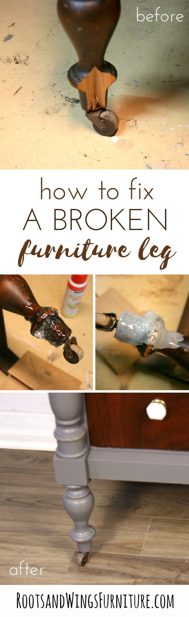 how to fix a damaged piece of furniture evolution nightstands