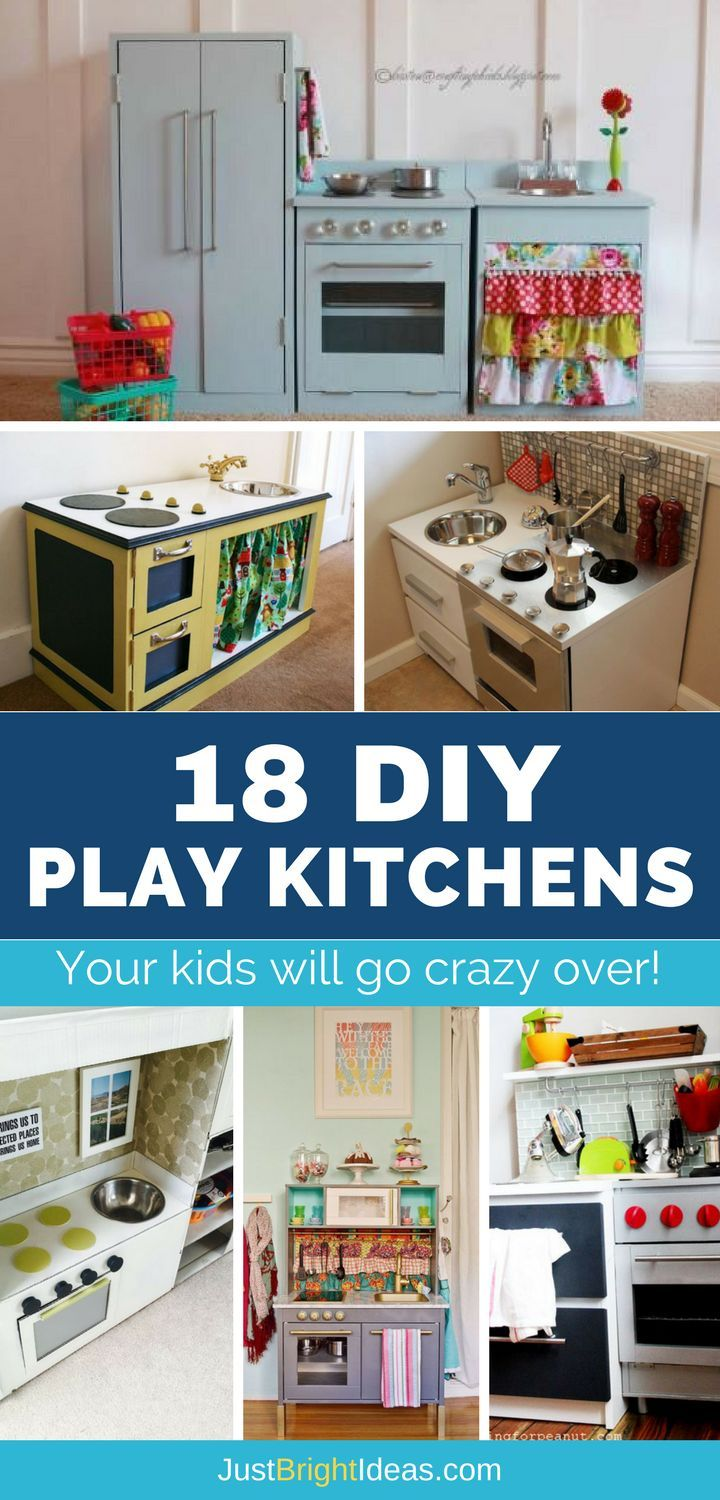 18 DIY Play Kitchens so Amazing You\'ll Want to Cook in Them Yourself ...