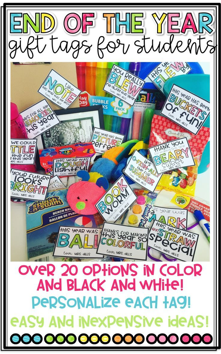 End of the year gift tags for students end of the year - Graduation gift for interior design student ...