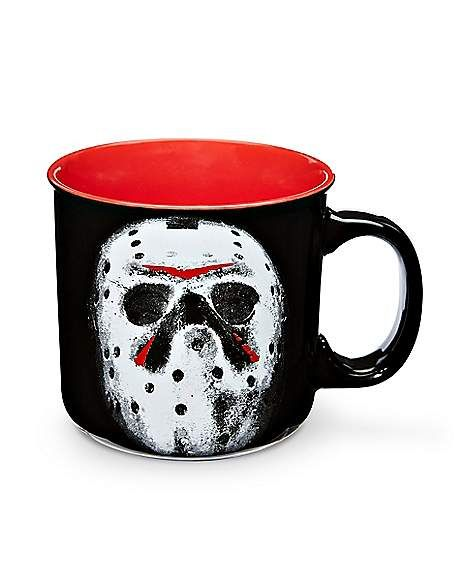 Camp Spencer Halloween 2020 Camp Crystal Lake Coffee Mug   20 oz.   FOREVER HALLOWEEN in 2020