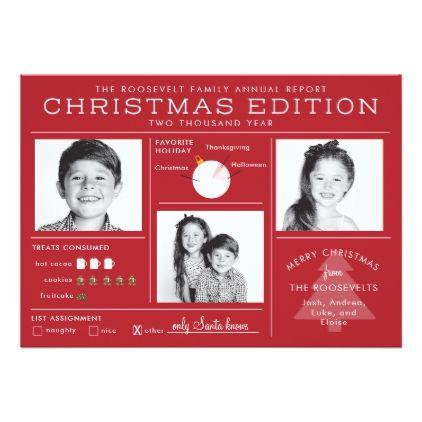 Holiday Newsletter Infographic Funny Christmas christmas stuff