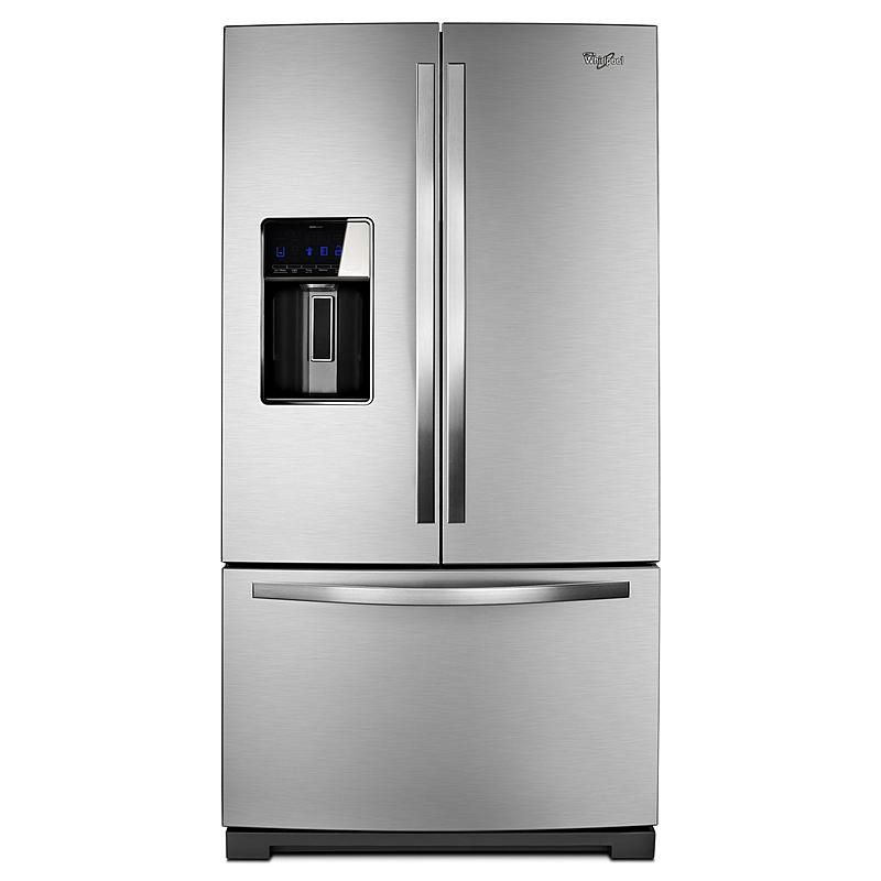 Whirlpool 28 6 Cu Ft French Door Refrigerator Stainless Look