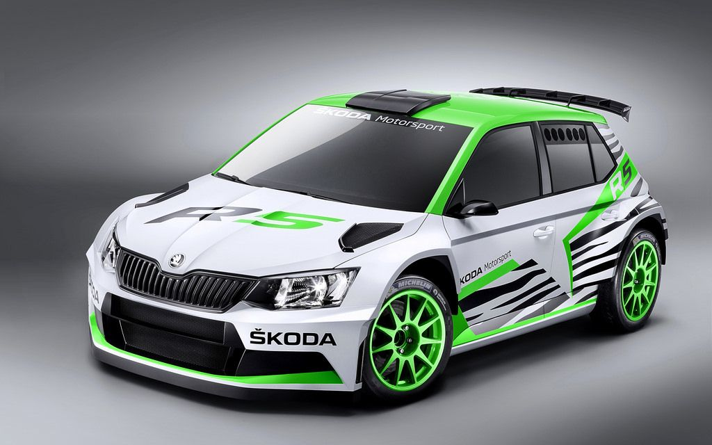 2014 Skoda Fabia R5 Concept Rally car, Skoda fabia, Car