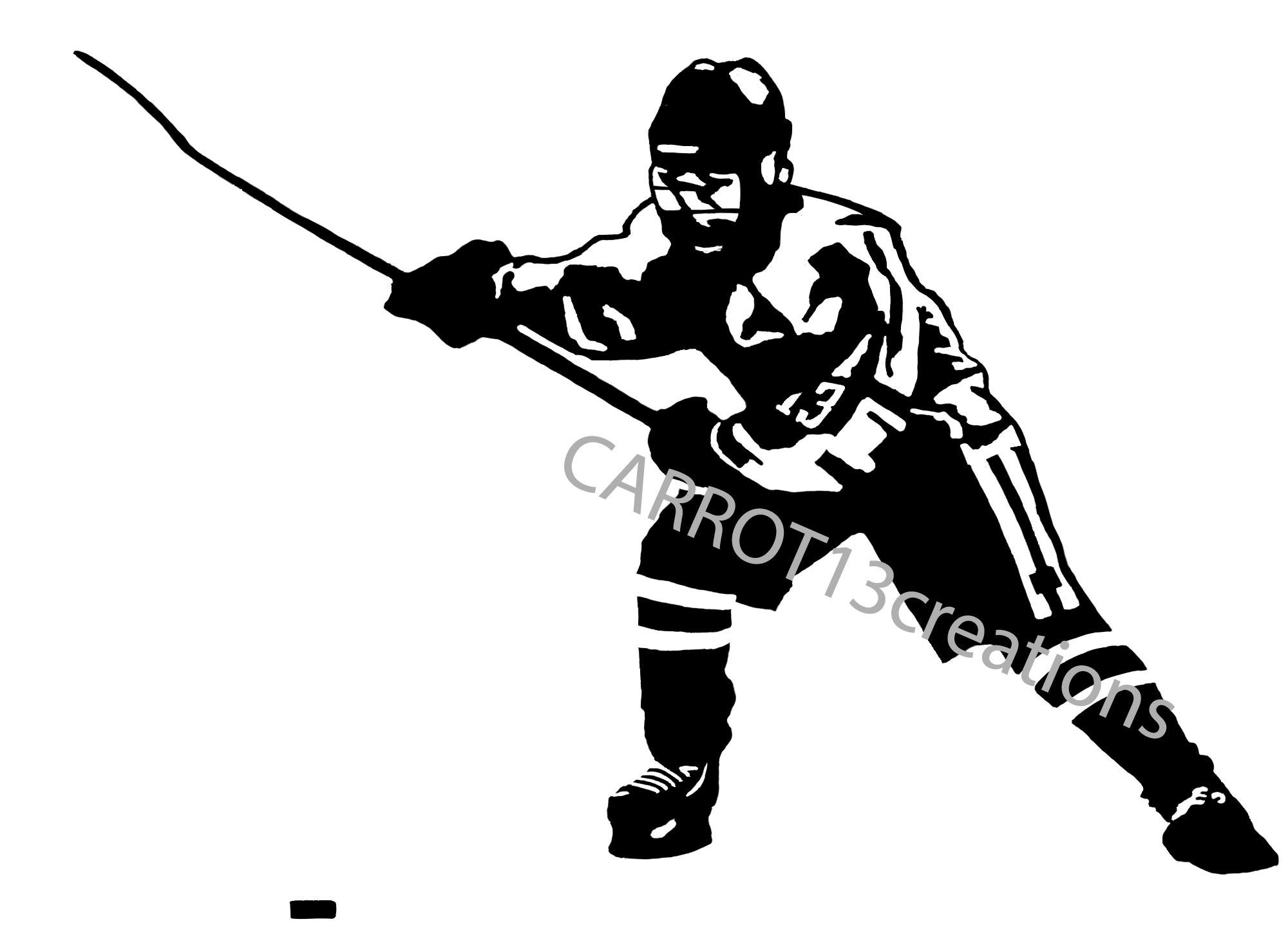 Youth Hockey Player Svg Png Jpg Files For Vinyl Decal Etsy In 2020 Youth Hockey Hockey Players Youth Sports