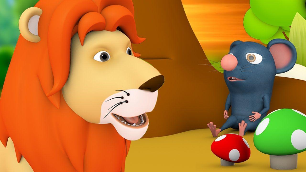 எலி மற்றும் அதன் நண்பர் சிங்க ராஜா - The Mouse and The ...