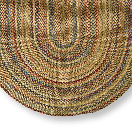 Straw Multi Capel Ll Bean S Braided Wool Rug Oval Indoor Rugs At L