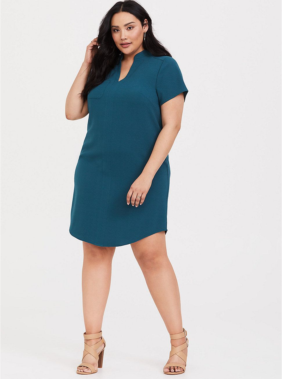 50++ Plus size shift dress information