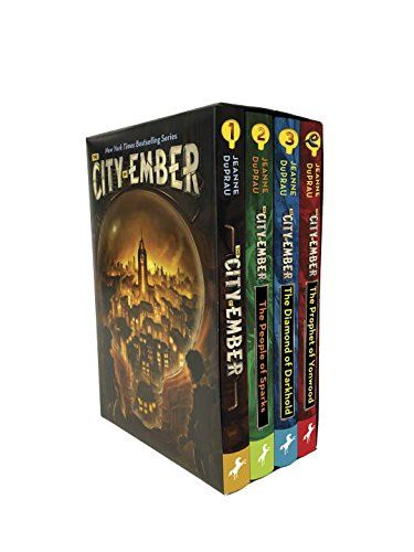 The City Of Ember Complete Boxed Set By Jeanne Duprau Http Www Amazon Com Dp 0399551646 Ref Cm Sw R Pi Dp Wwk2w City Of Ember City Of Ember Book Diamond City