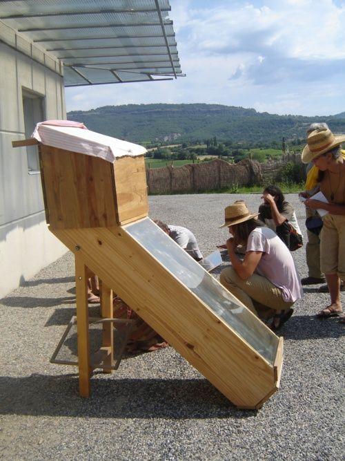 four et sechoir solaire DIY Pinterest Solaire, Bricolage et Écolo - Panneau Solaire Chauffage Maison