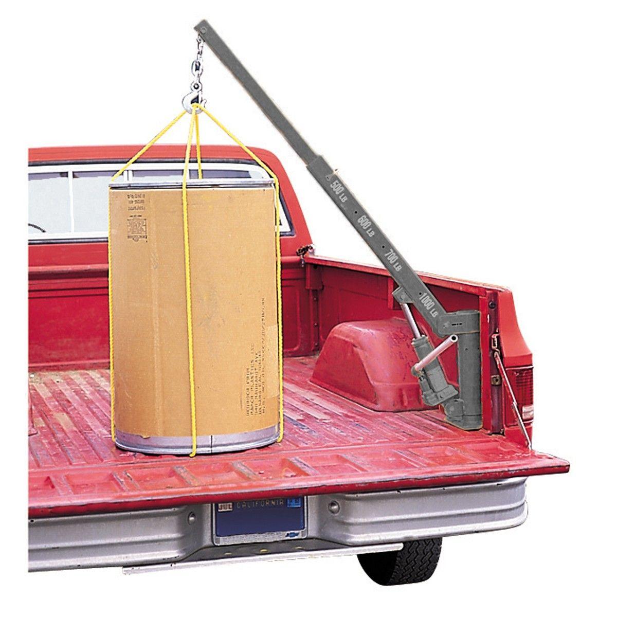 Pickup Truck Bed Crane 1000 lb. Capacity in 2020