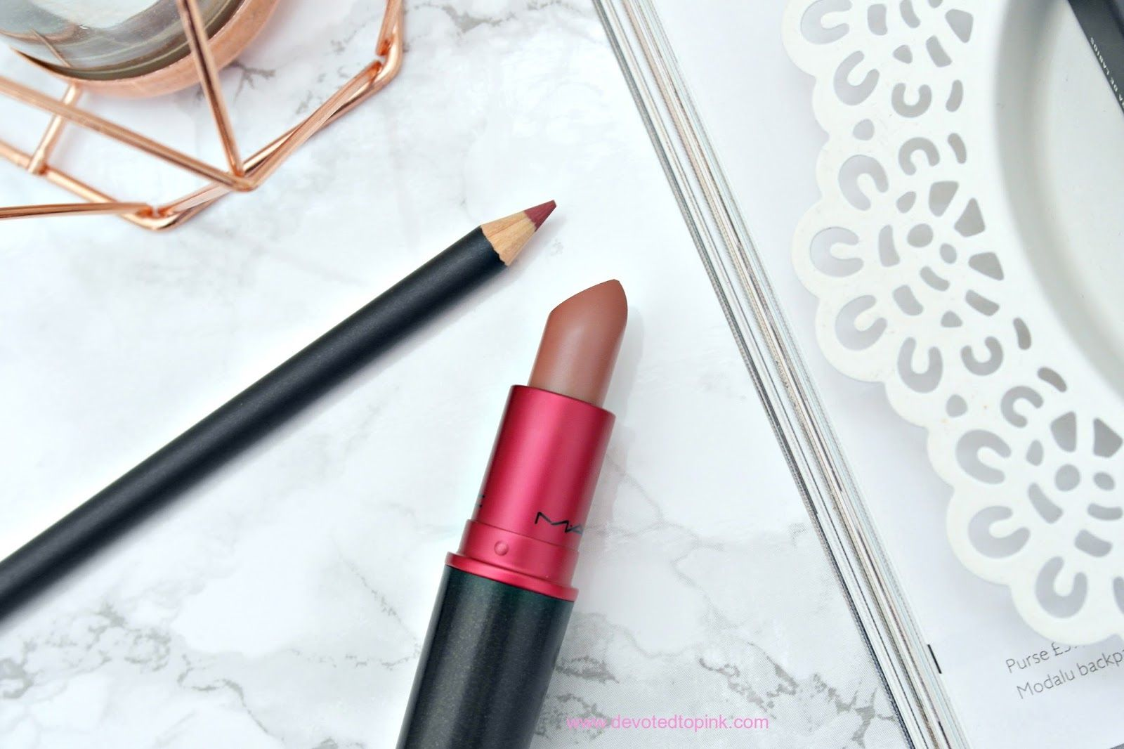 MAC Viva Glam II lipstick & MAC Dervish