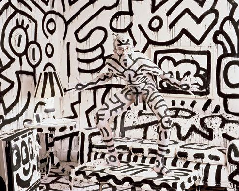 Keith Haring...Annie Leibowitz