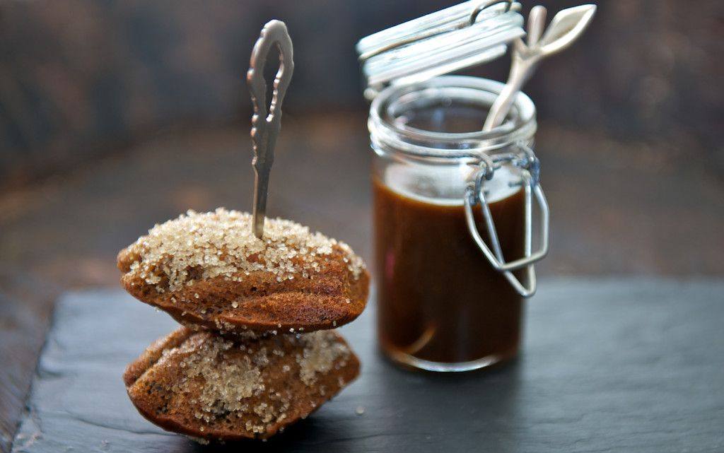 Date and earl grey tea madeleines recipe with images